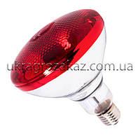 Лампа инфракрасная BR38 100 Вт красн. окраш. UFARM