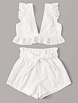 Женский костюм, прошва, р-р 40-42; 44-46 (белый), фото 7