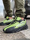 Кросівки чоловічі 15524, Adidas Yeezy 700, зелені, [ 41 42 43 44 45 ] р. 42-27,0 див., фото 2