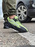 Кросівки чоловічі 15524, Adidas Yeezy 700, зелені, [ 41 42 43 44 45 ] р. 42-27,0 див., фото 6