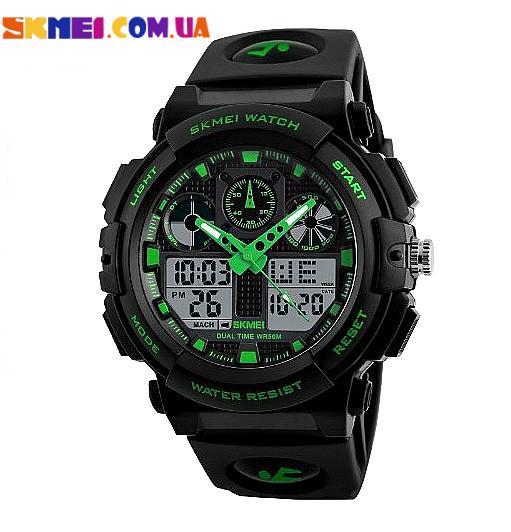 Водонепроникні наручний годинник Skmei 1270 (Green)