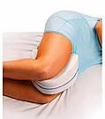 Ортопедична подушка для ніг Leg pillow contour legacy з ефектом пам'яті комфортного сну memory анатомічні, фото 8