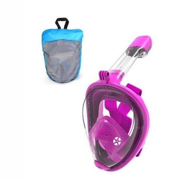 Маска для плавання FY777-1 в сумці (Фіолетовий)