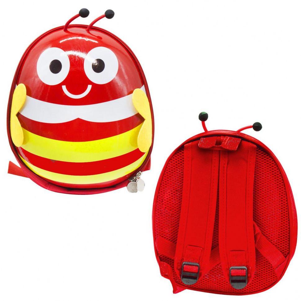 Рюкзак детский BG8402 с крылышками  (Красный)