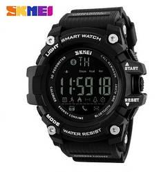 Умные часы Skmei 1227 c Bluetooth (Black)