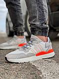 Кросівки чоловічі 17301, Adidas 3M, білі, [ 41 43 44 45 46 ] р. 41-25,2 див., фото 2