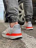 Кроссовки мужские 17301, Adidas Nite Jogger Boost 3M белы, [ 41 43 44 45 46 ] р. 41-25,2см., фото 4