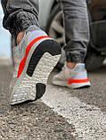 Кроссовки мужские 17301, Adidas Nite Jogger Boost 3M белы, [ 41 43 44 45 46 ] р. 41-25,2см., фото 5