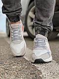 Кросівки чоловічі 17301, Adidas 3M, білі, [ 41 43 44 45 46 ] р. 41-25,2 див., фото 7