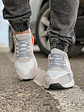 Кроссовки мужские 17301, Adidas Nite Jogger Boost 3M белы, [ 41 43 44 45 46 ] р. 41-25,2см., фото 7
