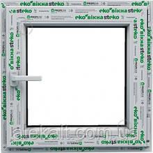 Окно Steko, металло-пластиковое, 500*500 мм, S400, поворотно-откидное. Форточка