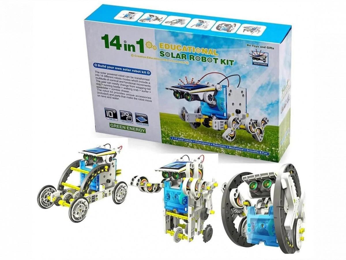Іграшка робот - конструктор Solar Robot 14в1