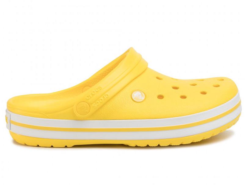 Кроксы сабо Женские Crocband Lemon/White M4-W6 36-37 22,1 см Лимонный