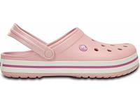 Кроксы сабо Женские Crocband Pearl M5-W7 37-38 22,9 см Светло-розовый