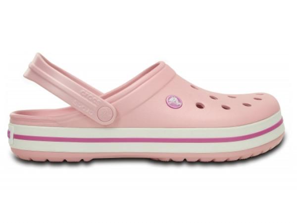 Кроксы сабо Женские Crocband Pearl M8-W10 41-42 25,5 см Сетло-розовый