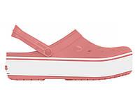 Кроксы сабо Женские Crocband Platform Blossom M7-W9 39-40 24,6 см Розовый