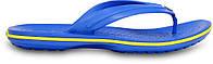 Кроксы сабо Мужские Crocband Flip-Flop Varsity/Blue/Burst M4-W6 36-37 22,1 см Голубой
