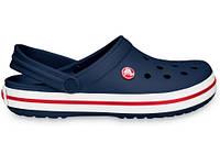 Кроксы сабо Мужские Crocband Navy M5-W7 37-38 22,9 см Синий