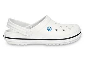 Кроксы сабо Мужские Crocband White M6-W8 38-39 23,8 см Белый