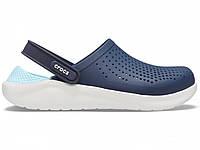 Крокси сабо Чоловічі LiteRideClogNavy/Almost M4-W6 36-37 22,1 см Синій