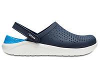 Кроксы сабо Мужские LiteRideClogPearl/White M7-W9 39-40 24,6 см Синий с Белым