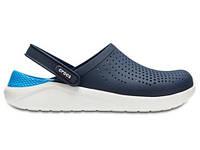 Крокси сабо Чоловічі LiteRideClogPearl/White M8-W10 41-42 25,5 см Синій з Білим