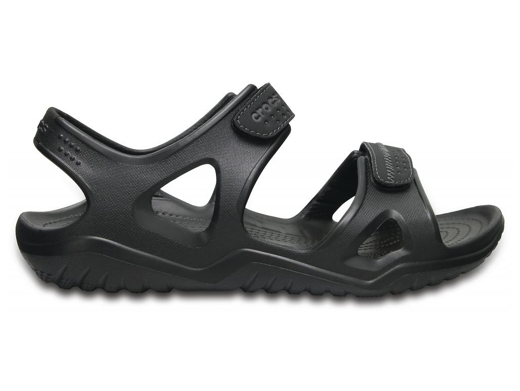 Крокси сабо Чоловічі Swiftwater River Sandal black М11 45-46 28 см Чорний