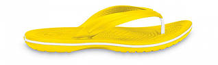 Кроксы сабо Унисекс Crocband Flip-Flop Yellow M10-W12 43-44 27,2 см Желтый
