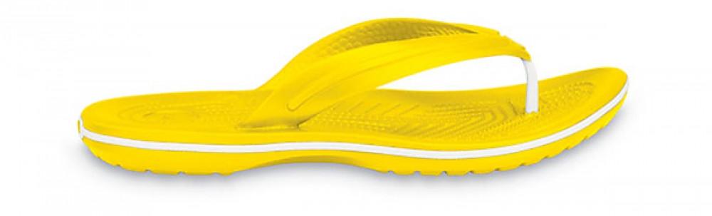 Кроксы сабо Унисекс Crocband Flip-Flop Yellow M4-W6 36-37 22,1 см Желтый