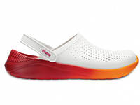 Кроксы сабо Унисекс LiteRideClogWhite/Orange M7-W9 39-40 24,6 см Оранжевый