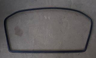 Ущільнювач скла двері задньої ляди Славута ЗАЗ 1103