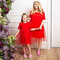 Жіноче плаття Family Look Батал, фото 1