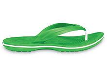 Крокси сабо Жіночі Crocband Flip-Flop Green M4-W6 36-37 22,1 см Зелений