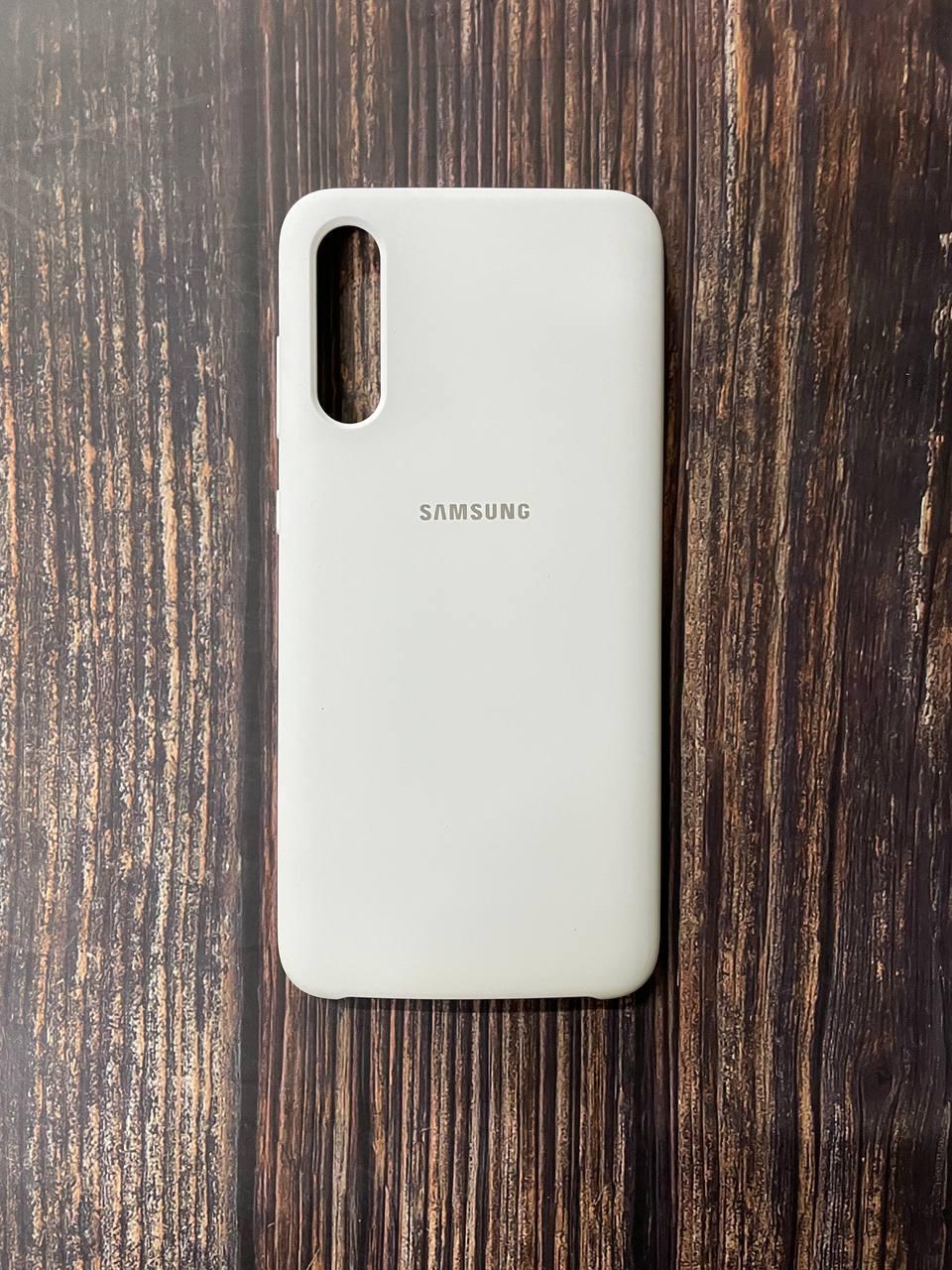 "Чохол Samsung A 70 №9 ""Білий"" Silicon Case"