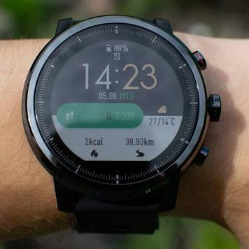 Смарт часы Xiaomi Amazfit Stratos (A1619) black