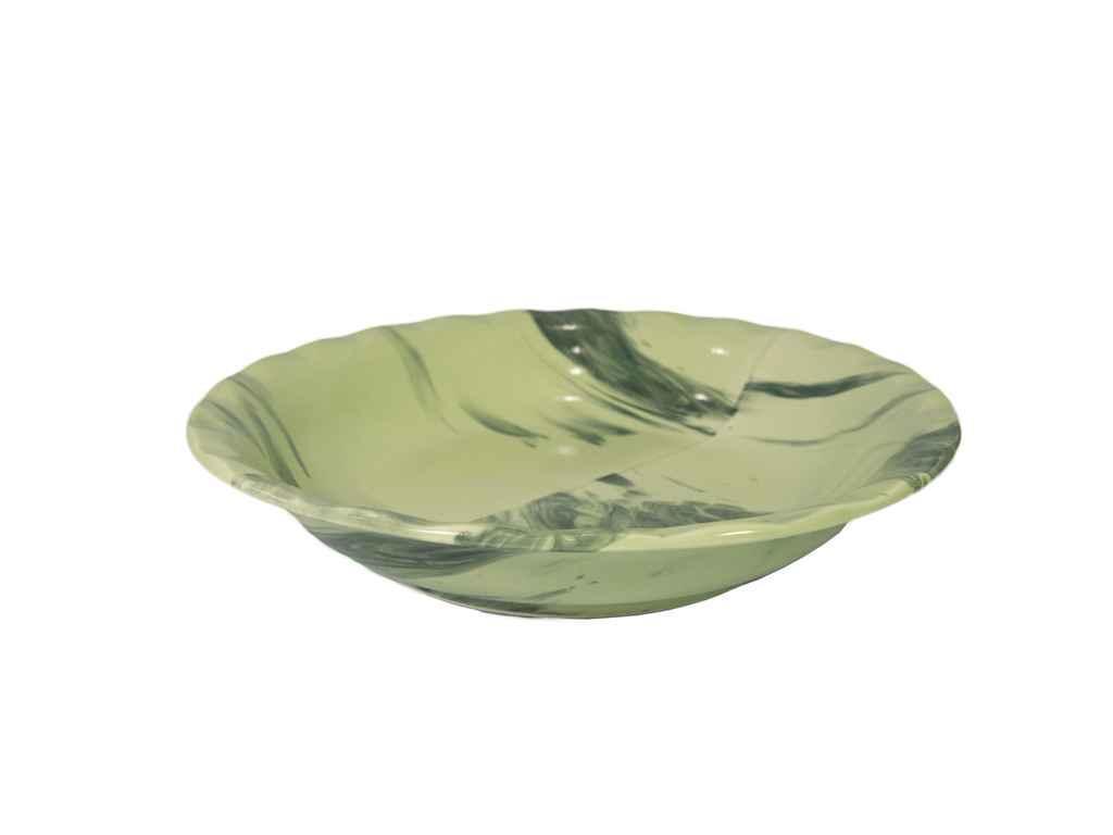 Тарілка мілка d=175мм Веселка зелена (6шт. в уп) ТМ ПОЛИГЕНЬКО