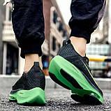 Чорно зелені кросівки в стилі Nike Air Zoom Alphafly Next, фото 5