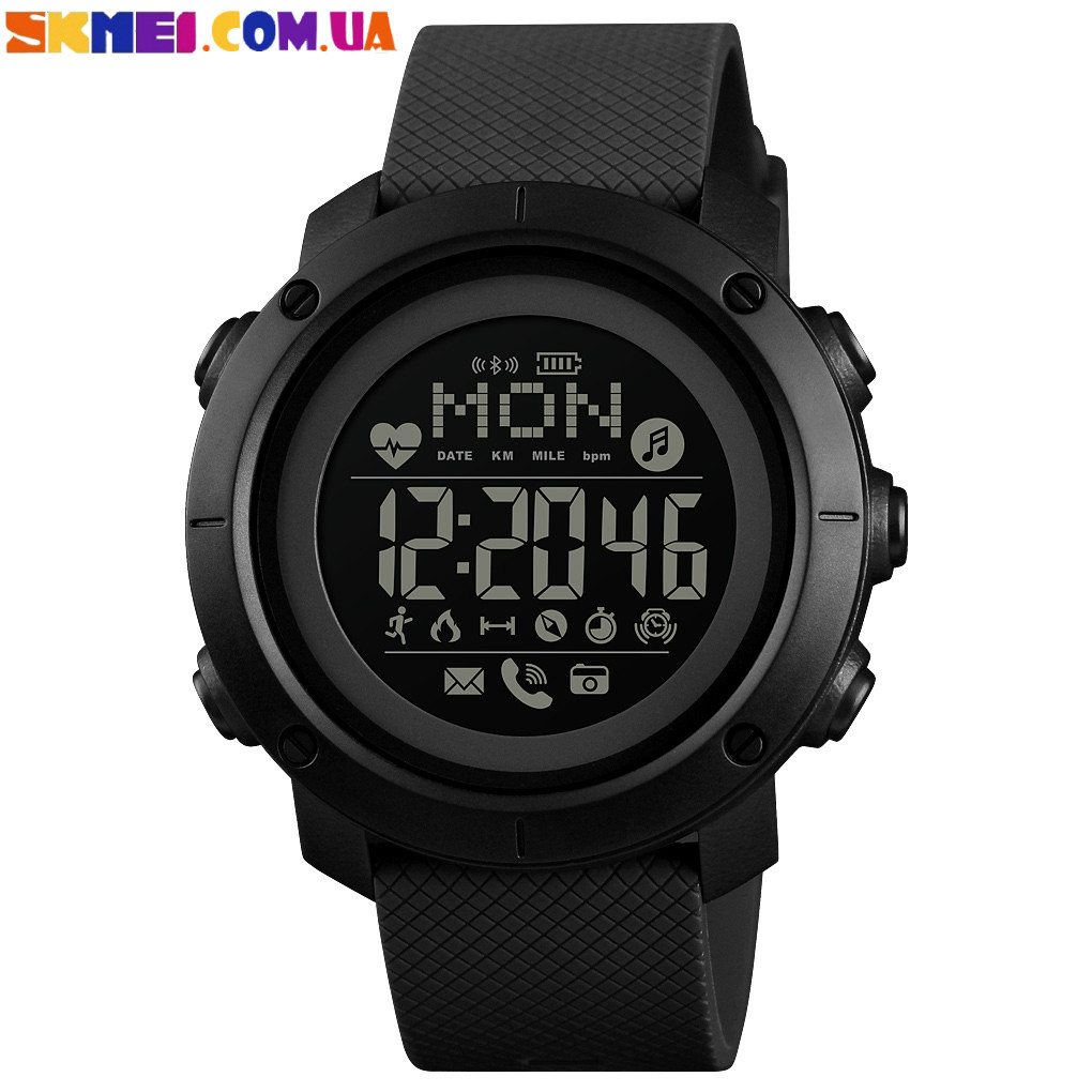 Розумний годинник (Smart Watch) SKMEI 1512 (Black)