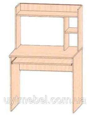 Стіл комп. Люкс-2 клондайк 2557/04 (Сучасні меблі)