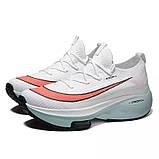 Кросівки чоловічі в стилі Nike Zoom 2K білі, фото 5