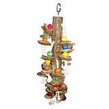 Дерев'яна іграшка для папуги (Мозайка), фото 3