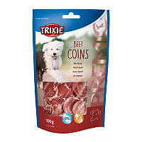 Ласощі для собак Premio Beef Coins 100g 31706