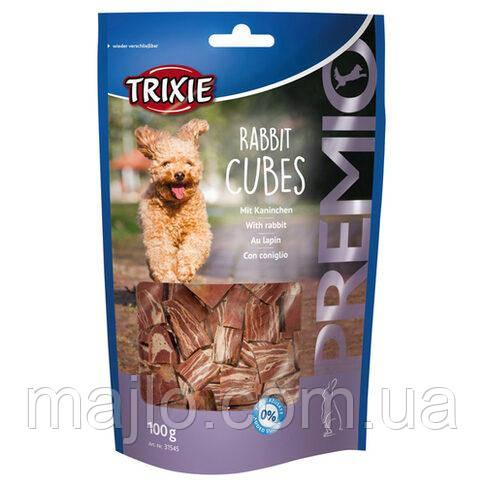 """Ласощі для собак """"Premio Rabbit Cubes"""" кролик 100гр 31545"""