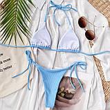 Роздільний купальник на зав'язках, фото 4