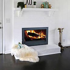 Топка дровяная чугунная Ferguss Fireplace FG-18 с внешней приточкой