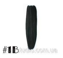 Волосся Remy на тресс для нарощування довжина 50 см відтінок №1В