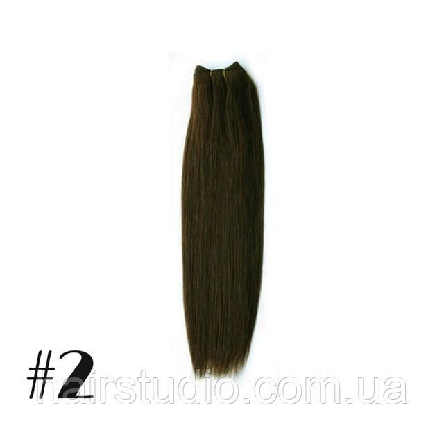 Волосы Remy на трессах длина 50 см оттенок №2