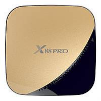 Android TV приставка SKY (X88 pro) 4/64 GB Gold