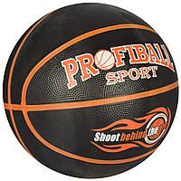 Мяч баскетбольный VA 0056 размер7, резина, 12панелей, 2цвета, 580-600г,в кульке