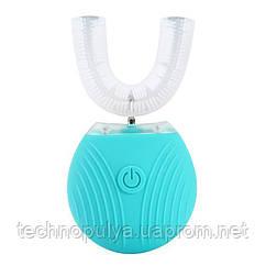 Ультразвукова електрична зубна щітка з автоматичною стерилізацією BeWhite М'ятна (188)